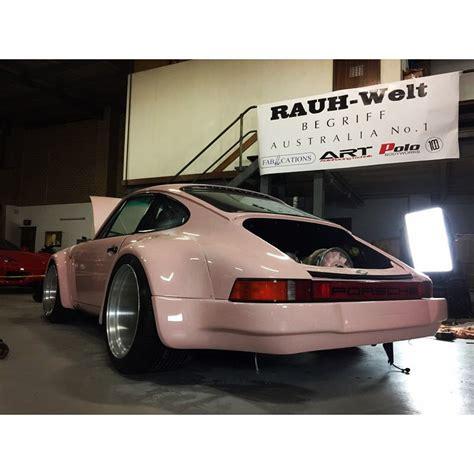 rwb porsche australia rwb building a porsche 911 tribute to 917 20 pink pig