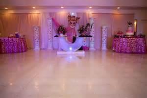 Salon Decorating Ideas For Quinceaneras Galleries Quince Pink Purple Sal 243 N De Eventos El