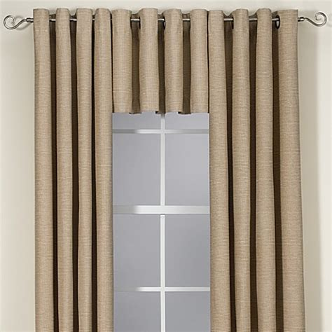 bed bath and beyond union square buy union square valance in khaki from bed bath beyond