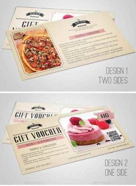 design your own gift vouchers template update234 com