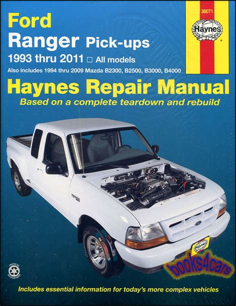 chilton mazda trucks 1987 1993 repair manual shop manual ranger service repair ford haynes book chilton mazda pickup workshop