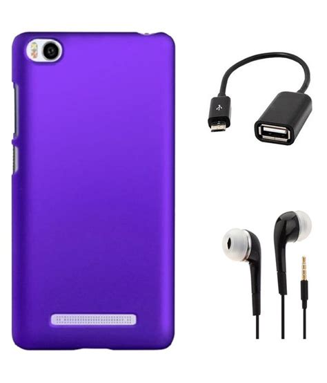 Kabel Otg Xiaomi Mi4i tidel purple back cover for xiaomi mi4i with 3 5mm earphone micro otg cable mobile