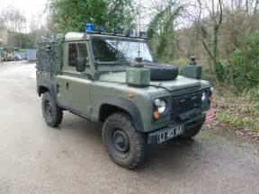 Jeep Nato Canvas bomb disposal land rover arrives land rover centre