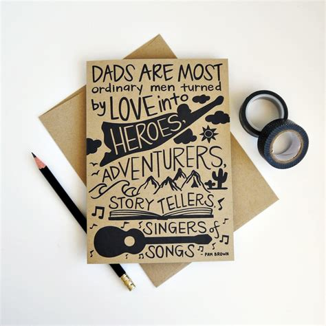 Handmade Greeting Cards For Parents Day - handmade fathers day cards images