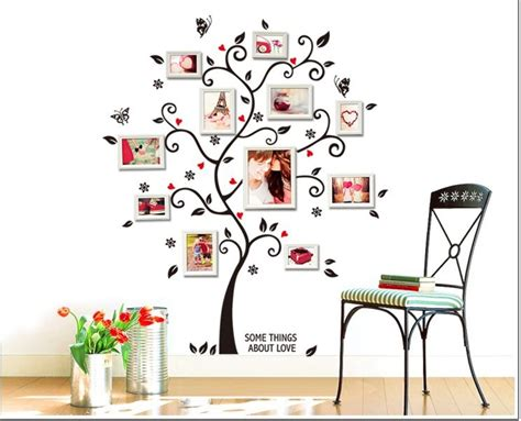 home decor free shipping free shipping zy6031 large size family photo frame tree