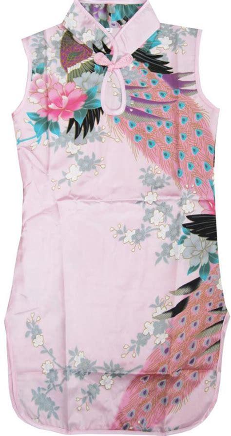 Baju Merak Warna Pink fashion dress anak perempuan warna merah muda merak