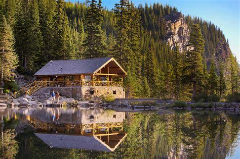 tea house hikes  lake louise banff lake louise tourism
