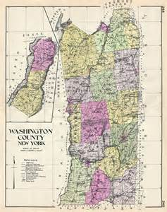 New York Washington Map by Washington County New York Geographicus Rare Antique Maps