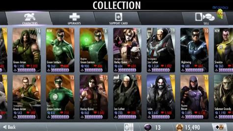 us mobile injustice gods among us mobile gameplay