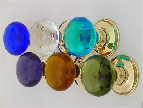 glass door knobs coloured glass door knobs colored glass door knobs