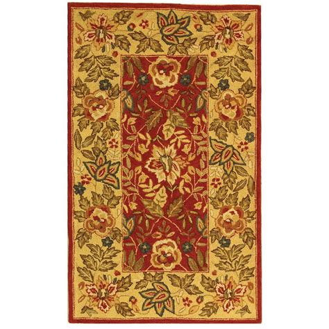 4 X 9 Area Rug Safavieh Chelsea Ivory 2 Ft 9 In X 4 Ft 9 In Area Rug Hk140c 3 The Home Depot