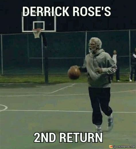 Derrick Rose Memes - derrick rose 2nd return meme
