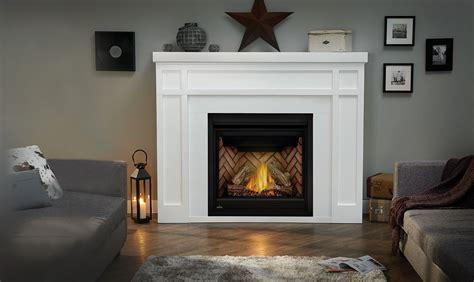 Brilliant Empire Gas Fireplace Mantel Napoleon Pertaining