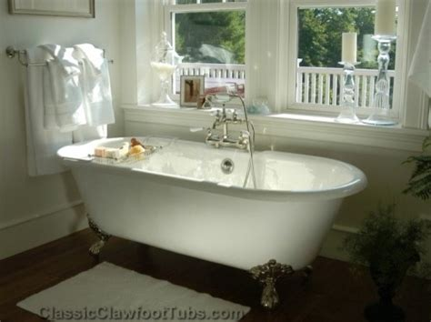 traditional bathtubs gorgeous bathroom with a double ended clawfoot tub