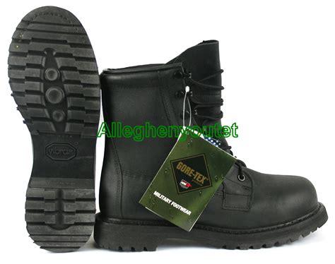 steel toe combat boots usgi rocky safety steel toe icw black goretex