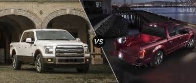 2016 ford f 150 king ranch vs platinum trims