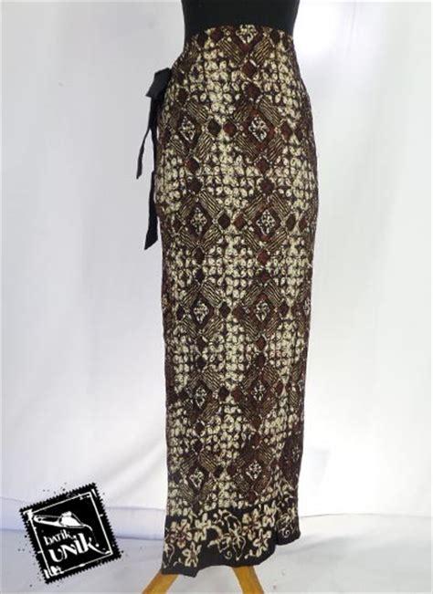 Rok Sogan Kawung Svj 4 baju batik rok lilit jarik motif sogan bawahan rok murah batikunik