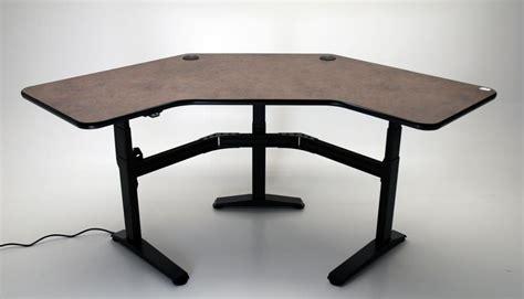 ergonomic corner desk ergo corner martin ziegler