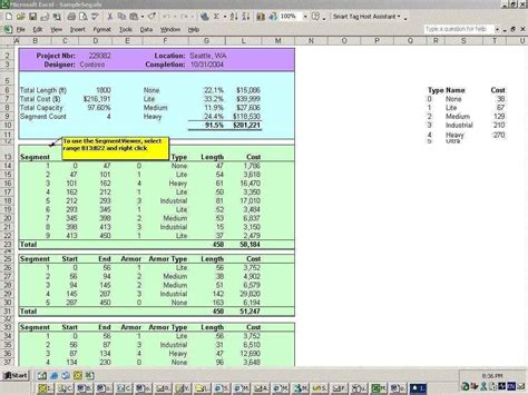 cost estimate spreadsheet template cost analysis
