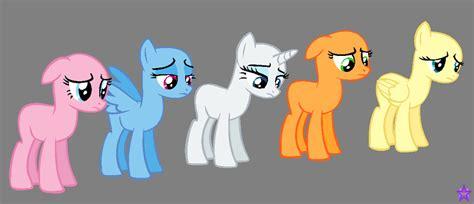 five ponies mlp base mlp base 5 by frozen heart667 on deviantart
