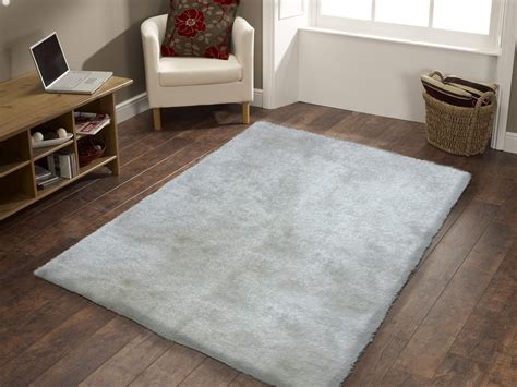 White Fuzzy Area Rug Handmade White Solid Soft Fuzzy Shag Area Rug Rug Addiction