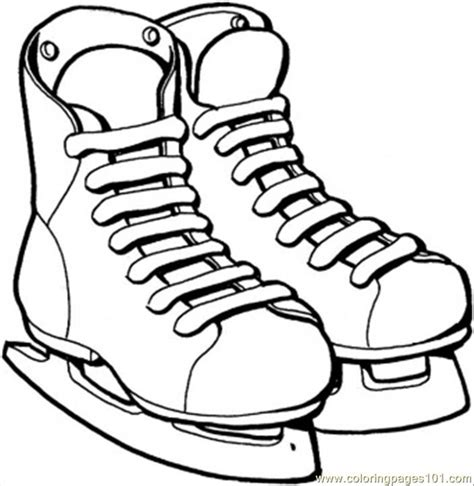 hockey skates coloring pages free ice hockey rink coloring pages