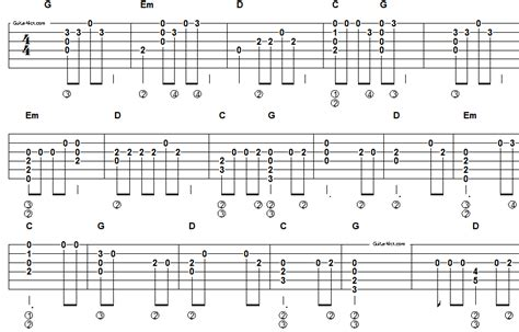 country music songs on guitar easy country guitar tabs