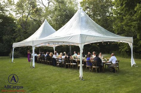 allcargos tent event rentals inc backyard events rental