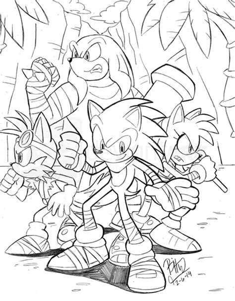 sticks sonic boom coloring pages coloring pages