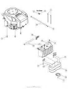 mtd 13ap625k730 2007 parts diagram for engine accessories