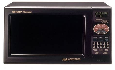 Microwave Oven Sharp R 222y sharp r 820bk 900 watt 0 9 cubic foot convection microwave