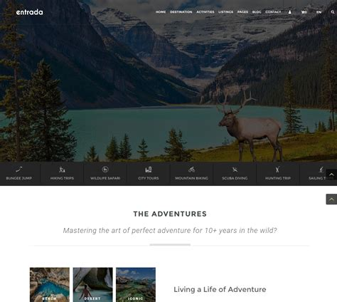 entrada theme the best fresh and modern themes for the end of