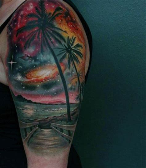 ocean tattoos for men tattoos of the and on guys arm