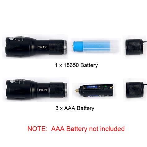 Senter Swat 8000 Watt senter led tactical cree xm l 8000 lumens black jakartanotebook
