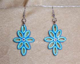 quilling earrings images quilling earrings by ombryb on deviantart