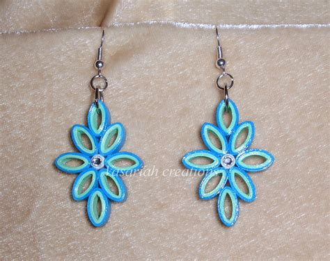 quilling paper earrings tutorial in tamil quilling earrings by ombryb on deviantart