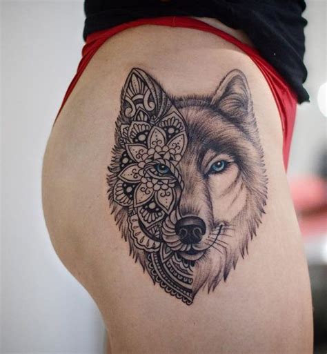wolf face tattoo best 25 wolf tattoos ideas on tree
