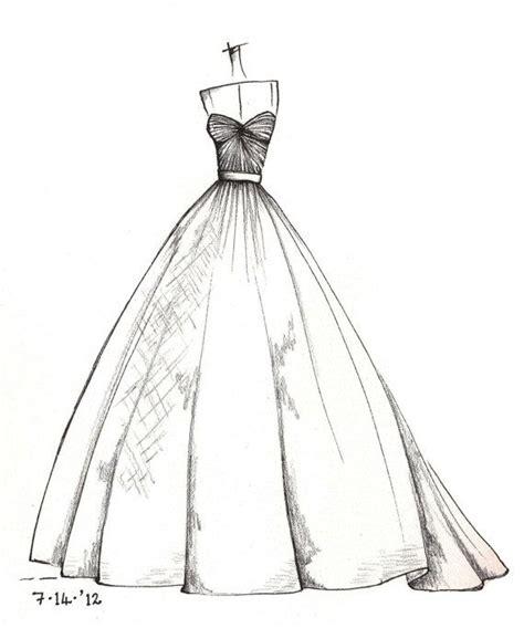 Brautkleider Zeichnen Lernen by Kleider Zeichnen Kleider Zeichnen Und