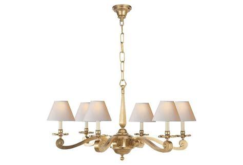 Myrna Chandelier myrna chandelier brass one