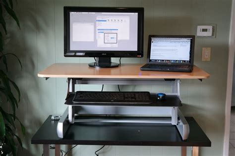 Elevate To Stand With The Inmovement Desk Turn Your Desk Into A Standing Desk