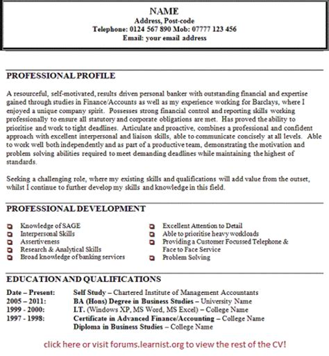 resume career focus exles resume exles this is appropriate resume personal