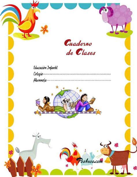imagenes infantiles para decorar cuadernos 1000 ideas about caratulas escolares en pinterest