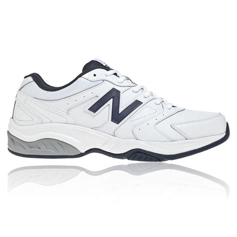 new balance sport shoe new balance mens mx624v3 white leather cross