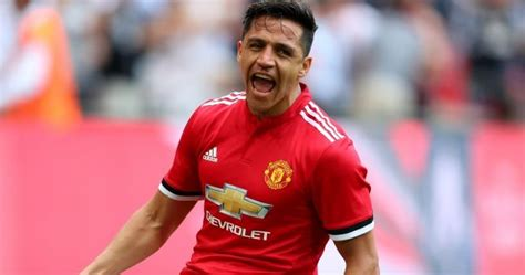 alexis sanchez joe weller alexis sanchez united s wembley warrior delivers