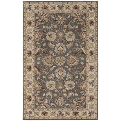 surya caesar rug 8 x11 surya caesar charcoal beige rug 282956 rugs at sportsman s guide
