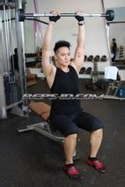 Barbell Kecil Spike Your Deltoids With Demian Reps Indonesia Fitness