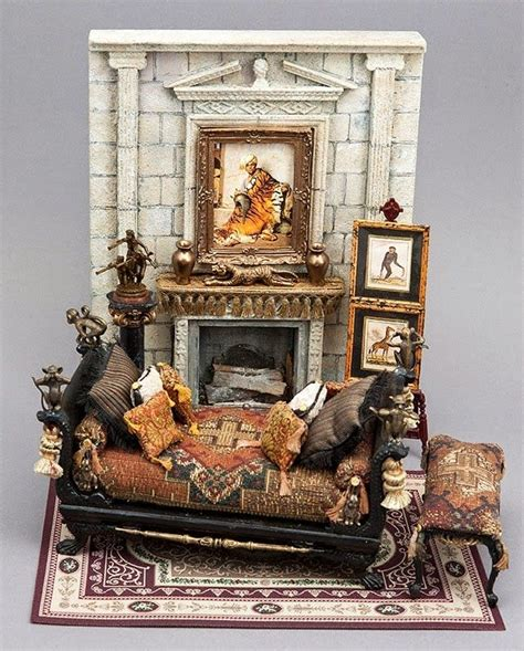 madelyn marie doll house good sam showcase of miniatures jt the pelt merchant s bedroom by bluette meloney
