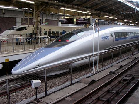 Japanese Station file 500 series shinkansen at tokyo station jpg