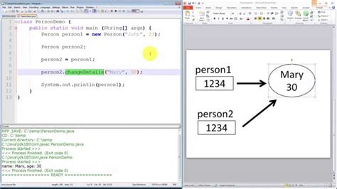 java pattern value object java programming tutorial passing by value object
