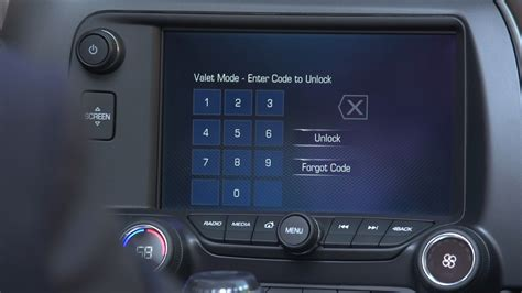 valet mode using new corvette s valet recording tech could be a